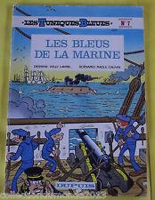 LES TUNIQUES BLEUES N°7 EDITION SOUPLE 1983 LES BLEUS DE LA MARINE