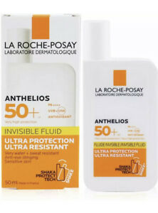 La Roche-Posay Anthelios SPF 50+ Ultra Protection Invisible Fluid 50ml, NEW