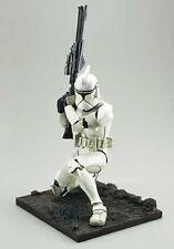 "Kotobukiya Japan STAR WARS artfx CLONETROOPER 12"" scale vinyl figure statue"