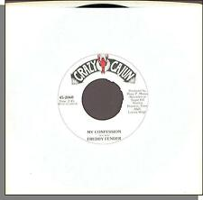 "Freddy Fender - My Confession + Goin' Honky Tonkin' - Crazy Cajun 7"" Single!"
