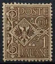 ITALIE 1901 SG#62, 1 C MARRON MH #D65478