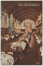 Grand Lodge Hall Dining Room. Masonic Homes, Elizabethtown, Pennsylvania