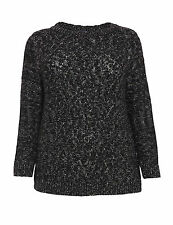Marks and Spencer Women's Chunky, Cable Knit Knit Hip Length Jumpers & Cardigans