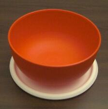 Tupperware Ergonomica Ergonomic 550 ml Schüssel mit Deckel Rot Neu OVP