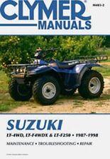 Clymer Repair Service Shop Manual Suzuki LT-4WD LT-F4WDX LTF250 Quad/King Runner