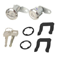 Pair Door Lock Cylinder with 2 Keys for 1983-1992 Ford Ranger