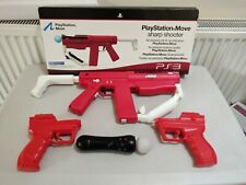 Sony Playstation Move PS3/PS4 VR Sharp Shooter Gun And motion Controller BUNDLE