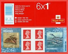 PM44 2014 6 x 1st Sustainable Fish Self Adhesive Booklet
