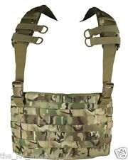 Kombat Army MOLLE chest rig / Tactical Carrier in BTP compliments MTP / Multicam