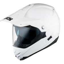 IXS 12020 Casque HX207 CROSS ENDURO QUAD AVEC VISEUR Blanc XS (53/54
