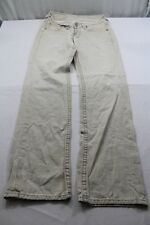 H5257 Levi´s 921 1522 Jeans W30 Beige Unifarben Gut