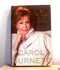 CAROL BURNETT ~ THIS TIME TOGETHER LAUGHTER REFLECTION ~ 2010 ~ 1st ED HCDJ PICS