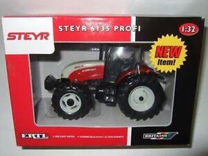 BRITAINS STEYR 6135 Profi model farm tractor 1 32 trekka trattore SIKU YAXON UH