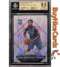 2015-16 Karl-Anthony Towns Panini Prizm Flash Prizms Refractor RC #328 BGS 9.5