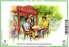 Etiquette de vin - Wine Label - Le Grand Bistrot