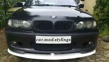 CAR.MAD CUSTOM BMW E46 MSPORT FRONT LIP/SPLITTER/SPOILER/BUMPER (bodykit/kit)