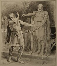 NY Daily Graphic. A Modern Macbeth. 1876.