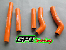 KTM 250SXF 250 SXF SXF250 SXF 250 06 2006 silicone radiator hose  Orange