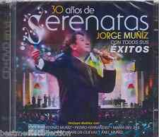 SEALED - Jorge Muniz CD NEW 30 Anos De Serenatas CD + DVD Incluye Duetos