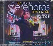 SEALED - Jorge Muniz CD NEW 30 Anos De Serenatas CD + DVD Incluye Duetos