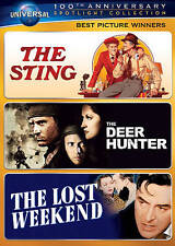 The Sting, The Deer Hunter, The Lost Weekend, Dvd, Universal 100th Anniversary)