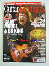GUITAR TECHNIQUES Magazine Sett/2008 Gary Moore & BB King Brent Mason  No cd dvd