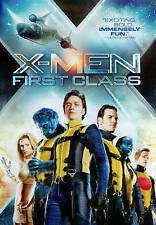 X MEN FIRST CLASS DVD James McAvoy Michael Fassbender Rose Byrne Kevin Bacon NEW