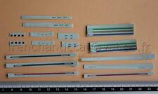 EN Véhicule miniature 1/43 decalcomanie ford mustang 350GT bande doré HECO deco