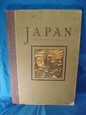 1904 Japan -Her Strength + Her Beauty Photo Illustrated History Book