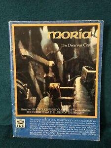 MERP Moria: The Dwarven City by Iron Crown Enterprises (I.C.E.) 1984