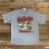 Vintage Mark McGwire Home Run Record King Lee Sport T-Shirt Size XL MLB Baseball