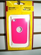 OTTER BOX DEFENDER PINK/WHITE IPOD TOUCH 4TH GENERATION ORIGINAL NEW IN BOX