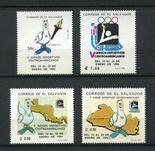 27337) EL SALVADOR 1993 MNH** Nuovi** Central America games sport