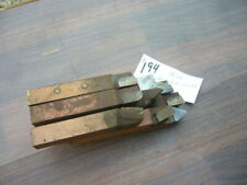 Assorted Lathe Cemented Carbide Tool Bits 5/8 SQ Carbaloy 370  9 Pcs