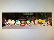 SOUTH PARK LAST SUPPER 12X36 POSTER COMEDY CENTRAL TV SERIES STAN KENNY CARTMAN!