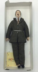 Dolls House Man In Tweed Suit - 15 cm