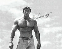 Arnold Schwarzenegger signed bodybuilding 8X10 photo picture poster autograph RP
