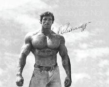 Arnold Schwarzenegger signed bodybuilding 8X10 photo picture poster autograph RP