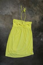 PINK Victoria's Secret Yellow Halter Dress Size L