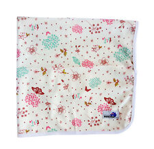 Cute Pink Flowers Change Mat - Soft Reusable Cloth Waterproof Multi-Function