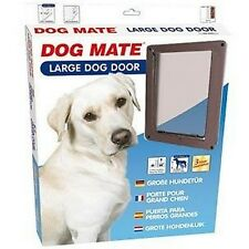 CHATIERE DOG MATE POUR GRAND CHIEN JUSQU'A 630 MM D'HAUTEUR D'EPAULE BRUN