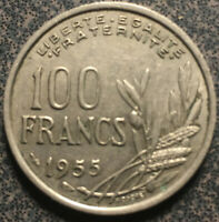 1955 France 100 Francs Coin XF French Liberty Coin