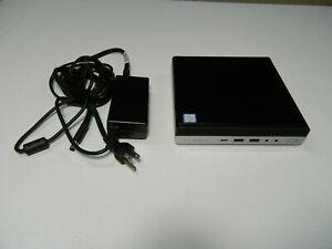 HP ProDesk 600 G3 Mini Desktop Core i5 6500T 2.5 GHz 8GB 500 GB Win 10