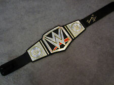 BOOKER T Autographed SIGNED WWE Championship Title Belt New w/COA PROOF 5 Time!