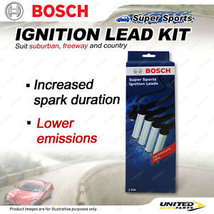 Bosch Super Sport Ignition Lead Kit for Kia Carnival K5 Premium Quality