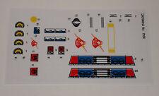 GI Joe Dreadnok Thunder Machine Sticker Decal Sheet