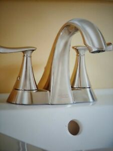 """American Standard Chatfield 4"""" Centerset Bath Faucet Brushed Nickel #AS23"""