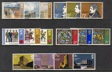 1971 COMPLETE COMMEMORATIVE YEAR SET ( 5 SETS ) UNMOUNTED MINT