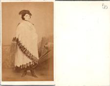 CDV Marie-Sophie Reine de Naples et des Deux Siciles, née duchesse en Bavière, c