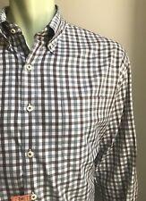 Peter Millar Shirt, Benson Plaid, X-Large, Classic Fit, Excellent Condition